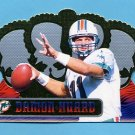 1999 Crown Royale Football #072 Damon Huard - Miami Dolphins