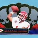 1999 Crown Royale Football #068 Warren Moon - Kansas City Chiefs