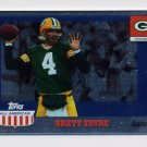 2003 Topps All American Football Foil #090 Brett Favre - Green Bay Packers