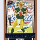 2007 Topps Draft Picks and Prospects Football #014 Brett Favre - Green Bay Packers