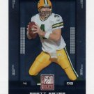 2008 Donruss Elite Football #035 Brett Favre - Green Bay Packers
