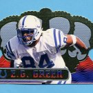 1999 Crown Royale Football #057 E.G. Green - Indianapolis Colts
