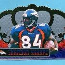 1999 Crown Royale Football #045 Shannon Sharpe - Denver Broncos