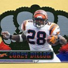 1999 Crown Royale Football #029 Corey Dillon - Cincinnati Bengals