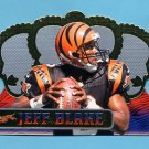 1999 Crown Royale Football #027 Jeff Blake - Cincinnati Bengals