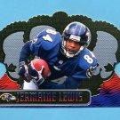 1999 Crown Royale Football #012 Jermaine Lewis - Baltimore Ravens