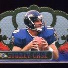1999 Crown Royale Football #010 Stoney Case - Baltimore Ravens