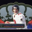 1999 Crown Royale Football #007 Chris Chandler - Atlanta Falcons
