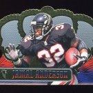 1999 Crown Royale Football #006 Jamal Anderson - Atlanta Falcons