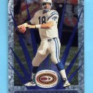 1999 Donruss Preferred QBC Football #066 Peyton Manning - Indianapolis Colts