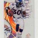 1999 E-X Century Football #29 Terrell Davis - Denver Broncos