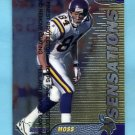 1999 Finest Football #143 Randy Moss - Minnesota Vikings
