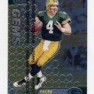 1999 Finest Football #126 Brett Favre - Green Bay Packers