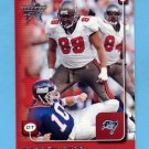 1999 Leaf Rookies And Stars Football #184 Warren Sapp - Tampa Bay Buccaneers