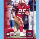 1999 Leaf Rookies And Stars Football #164 Charlie Garner - San Francisco 49ers