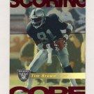 1999 Score Football Scoring Core #08 Tim Brown - Oakland Raiders