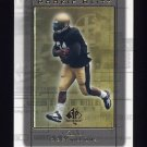 1999 SP Authentic Rookie Blitz #RB10 Ricky Williams RC - New Orleans Saints