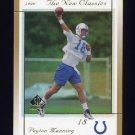 1999 SP Authentic New Classics #NC04 Peyton Manning - Indianapolis Colts