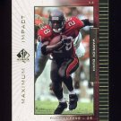 1999 SP Authentic Maximum Impact #MI06 Warrick Dunn - Tampa Bay Buccaneers