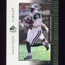 1999 SP Authentic Maximum Impact #MI04 Keyshawn Johnson - New York Jets