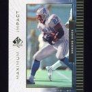 1999 SP Authentic Maximum Impact #MI02 Eddie George - Tennessee Titans