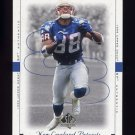 1999 SP Authentic Football #052 Terry Glenn - New England Patriots