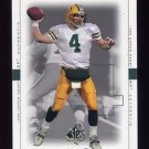1999 SP Authentic Football #032 Brett Favre - Green Bay Packers