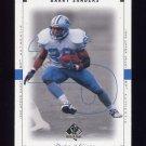 1999 SP Authentic Football #028 Barry Sanders - Detroit Lions
