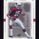 1999 SP Authentic Football #001 Jake Plummer - Arizona Cardinals