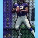 1999 SPx Spxcitement #S04 Daunte Culpepper RC - Minnesota Vikings