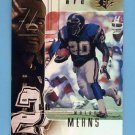 1999 SPx Football #074 Natrone Means - San Diego Chargers