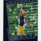 1999 Stadium Club Emperors Of The Zone #E02 Brett Favre - Green Bay Packers