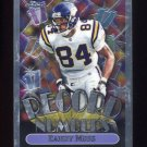 1999 Topps Chrome Record Numbers #RN01 Randy Moss - Minnesota Vikings