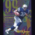 1999 Topps Chrome All-Etch #AE23 Edgerrin James RC - Indianapolis Colts