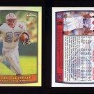 1999 Topps Chrome Refractors #046 Eddie George - Tennessee Titans