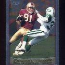 1999 Topps Chrome Football #065 Terrell Owens - San Francisco 49ers