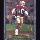 1999 Topps Chrome Football #050 Jerry Rice - San Francisco 49ers