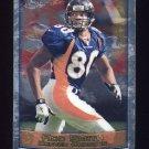 1999 Topps Chrome Football #037 Rod Smith - Denver Broncos