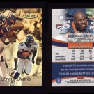 1999 Topps Gold Label Class 2 #001 Terrell Davis - Denver Broncos