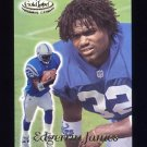 1999 Topps Gold Label Class 1 Football #100 Edgerrin James RC - Indianapolis Colts