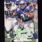 1999 Ultra Football #028 Ahman Green - Seattle Seahawks