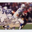 1999 Ultra Football #015 Peyton Manning - Indianapolis Colts
