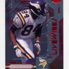 1999 Upper Deck Live Wires #L09 Randy Moss - Minnesota Vikings