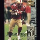 1999 Upper Deck Century Legends Century Collection #091 Garrison Hearst - 49ers 027/100