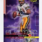 1999 UD Ionix Electric Forces #EF20 Brett Favre - Green Bay Packers