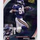 1999 UD Ionix Football #33 Randy Moss - Minnesota Vikings