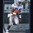 1999 Upper Deck Ovation Curtain Calls #CC18 Joey Galloway - Seattle Seahawks