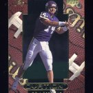1999 Upper Deck Ovation Football #59 Brad Johnson - Washington Redskins