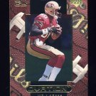 1999 Upper Deck Ovation Football #52 Jerry Rice - San Francisco 49ers