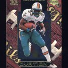 1999 Upper Deck Ovation Football #30 Karim Abdul-Jabbar - Miami Dolphins